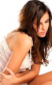 Imagen da síndrome pré-menstrual